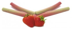 Confiture fraise-rhubarbe
