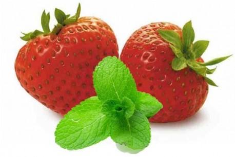 Confiture fraise-menthe